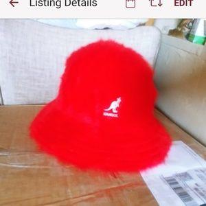Accessories - Small Kangol Angora blend Hip Hop Hat
